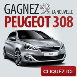 GAGNEZ LA NOUVELLE PEUGEOT 308