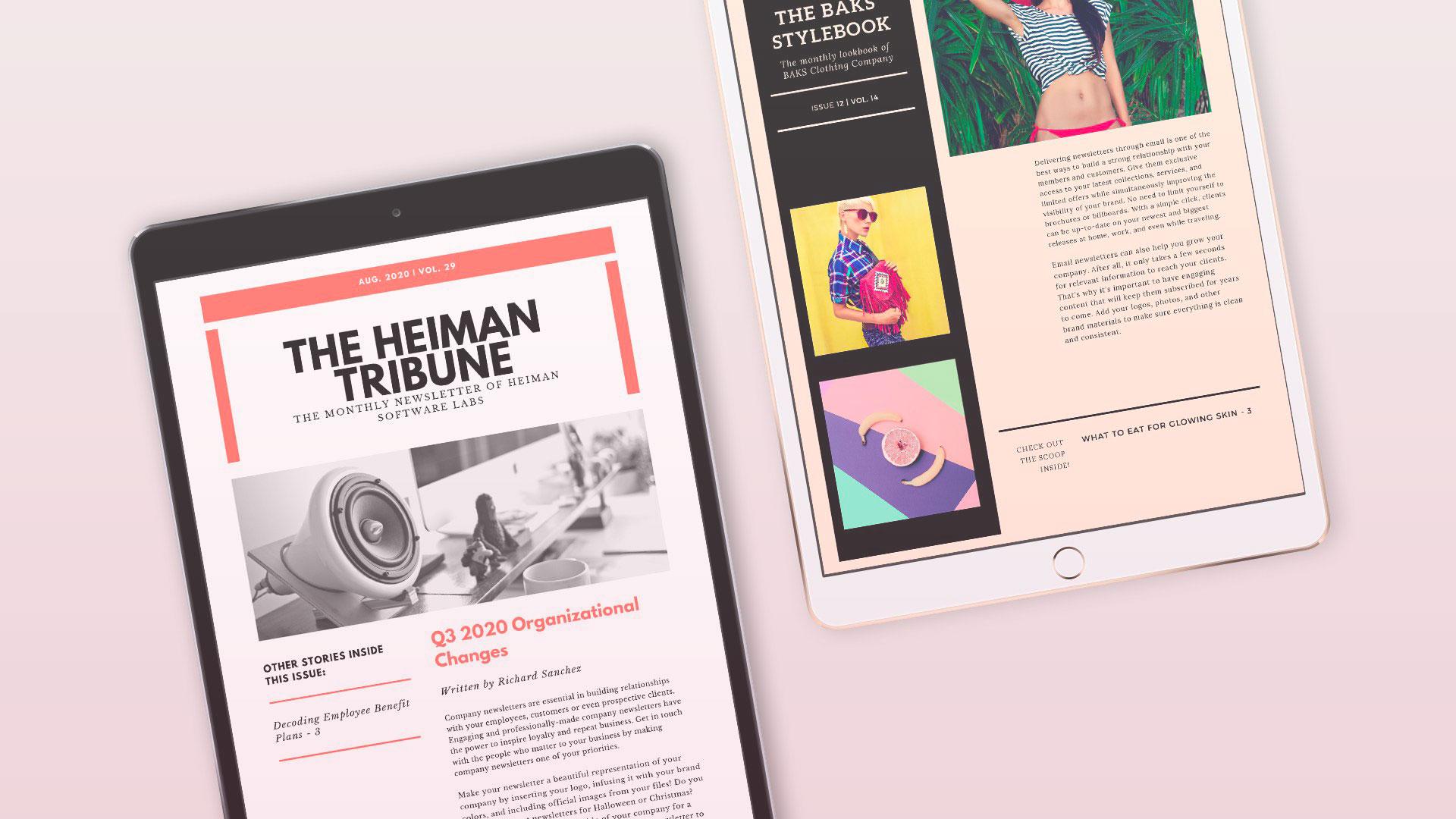 Exemple de campagne emailing en acquisition digitale