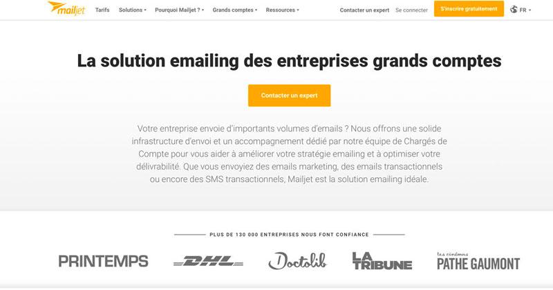 MailJet est un outil qui permet de créer et d'envoyer facilement vos emails marketing.