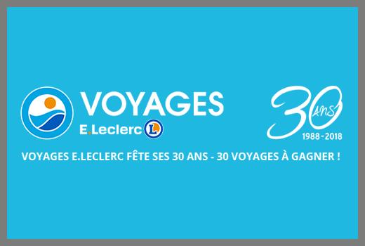 VOYAGE E. LECLERC - JEU CONCOURS [FR] [MAILING]
